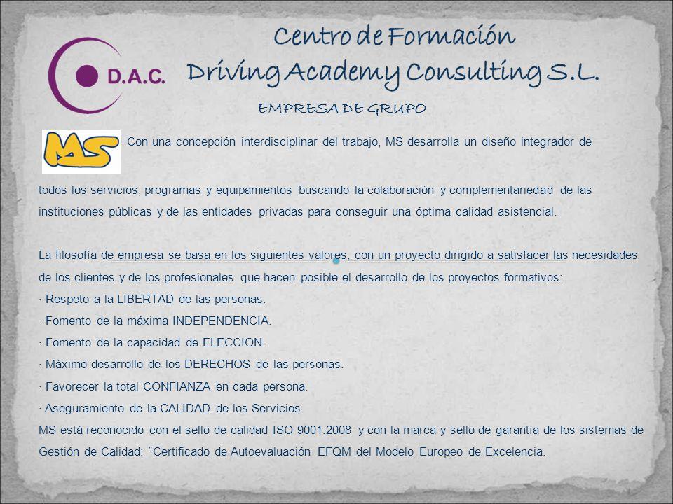 Centro de Formación Driving Academy Consulting S.L.