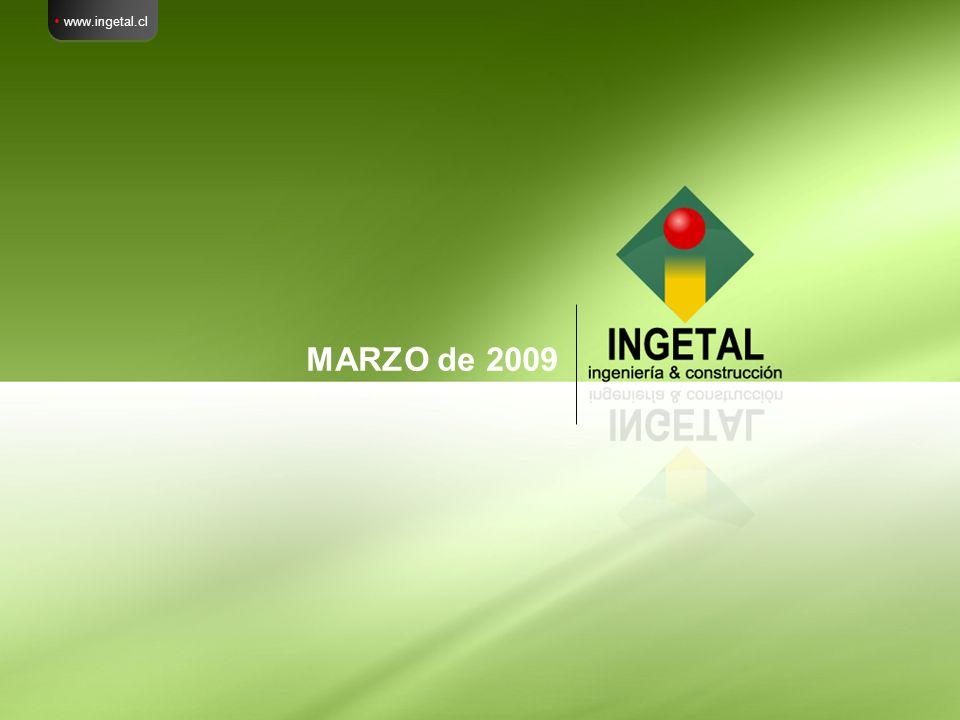  www.ingetal.cl MARZO de 2009
