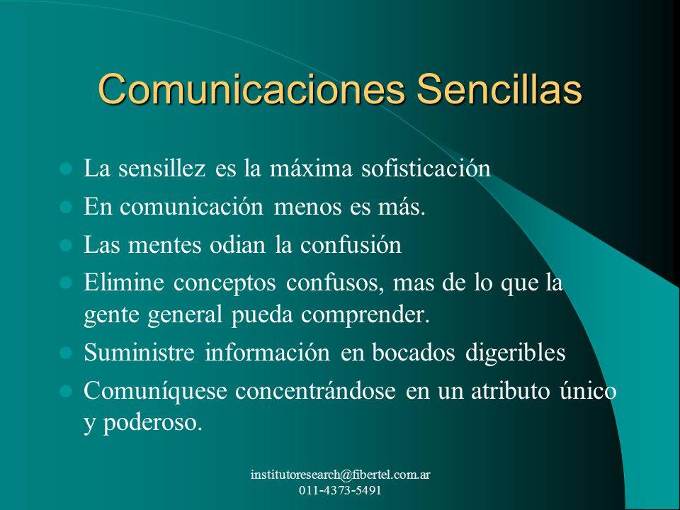 Comunicaciones Sencillas