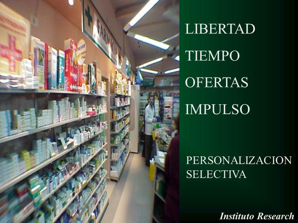 LIBERTAD TIEMPO OFERTAS IMPULSO PERSONALIZACION SELECTIVA