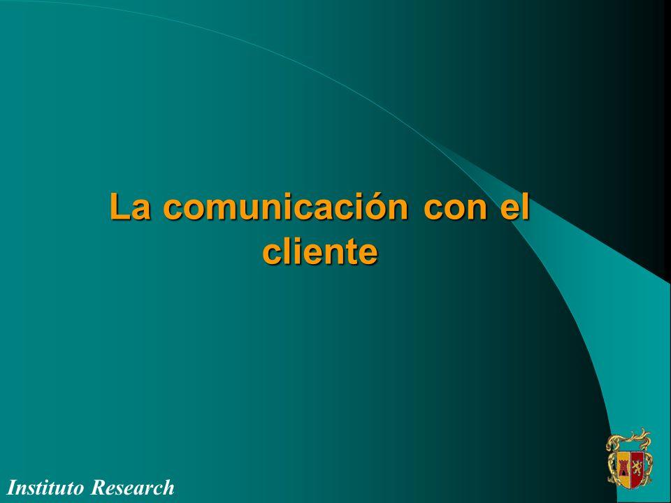 La comunicación con el cliente