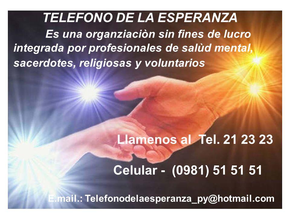 TELEFONO DE LA ESPERANZA