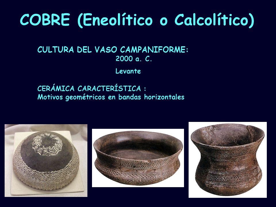 COBRE (Eneolítico o Calcolítico)