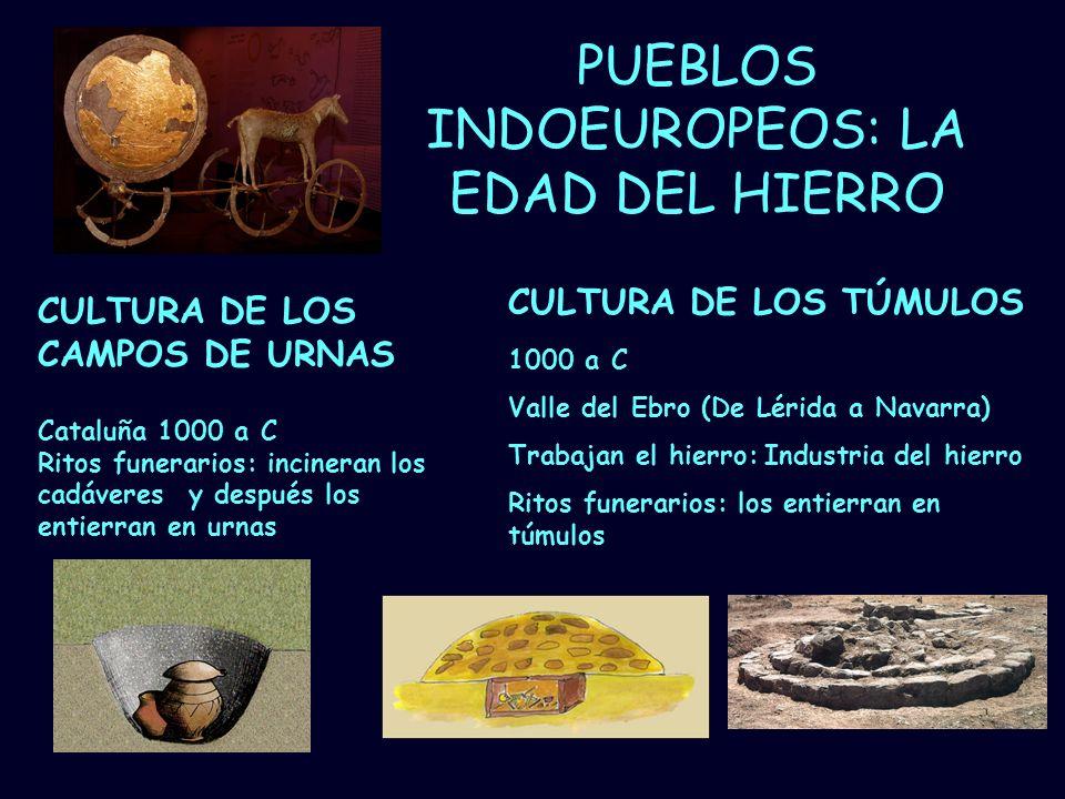 PUEBLOS INDOEUROPEOS: LA EDAD DEL HIERRO