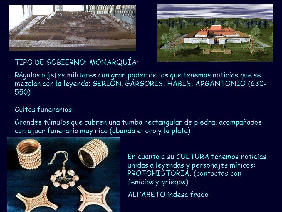 TIPO DE GOBIERNO: MONARQUÍA: