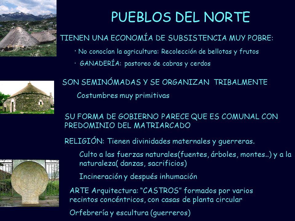 PUEBLOS DEL NORTE TIENEN UNA ECONOMÍA DE SUBSISTENCIA MUY POBRE: