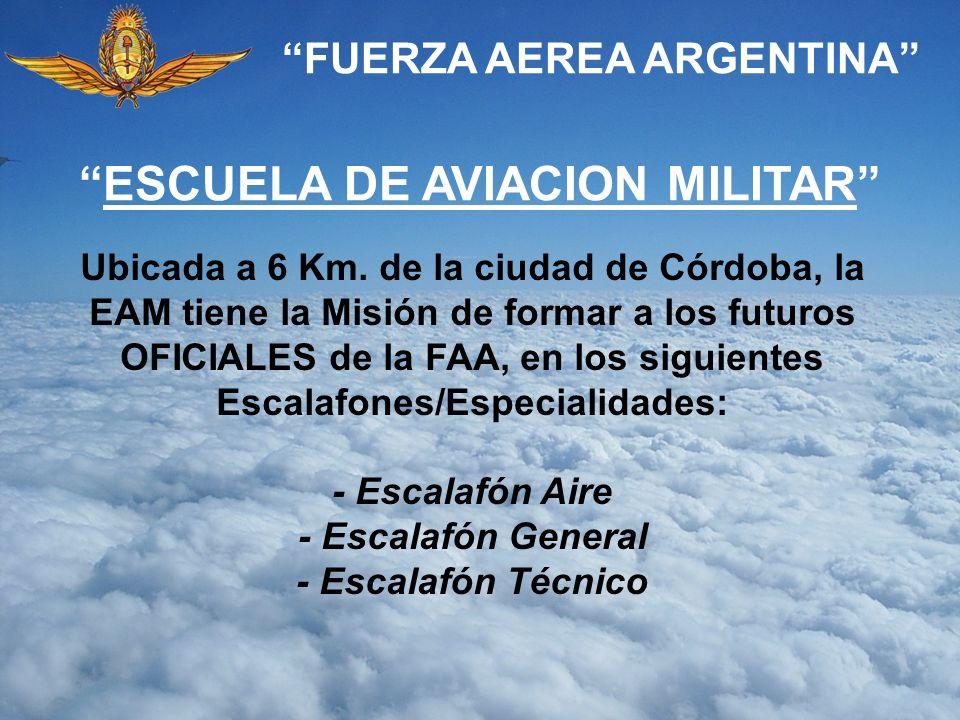 FUERZA AEREA ARGENTINA ESCUELA DE AVIACION MILITAR