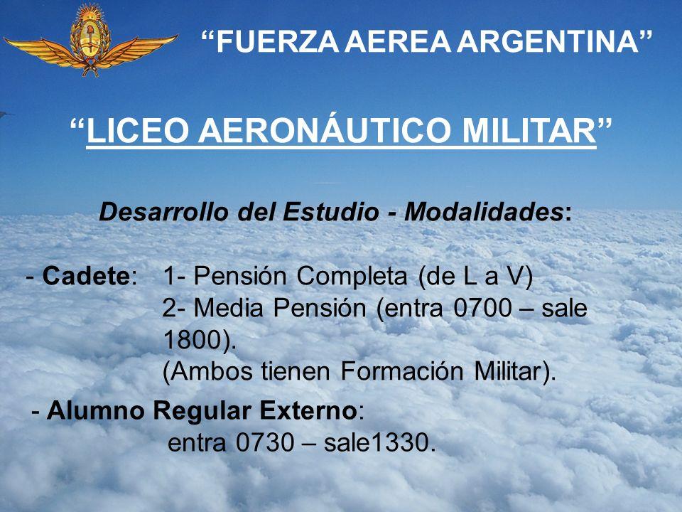 LICEO AERONÁUTICO MILITAR