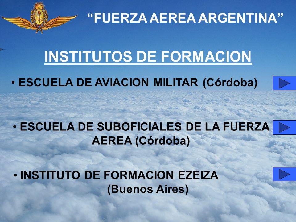 INSTITUTOS DE FORMACION