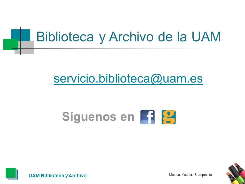 Biblioteca y Archivo de la UAM