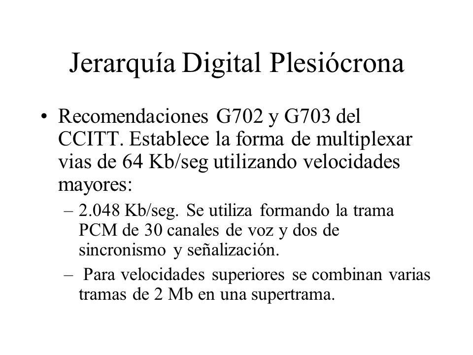 Jerarquía Digital Plesiócrona