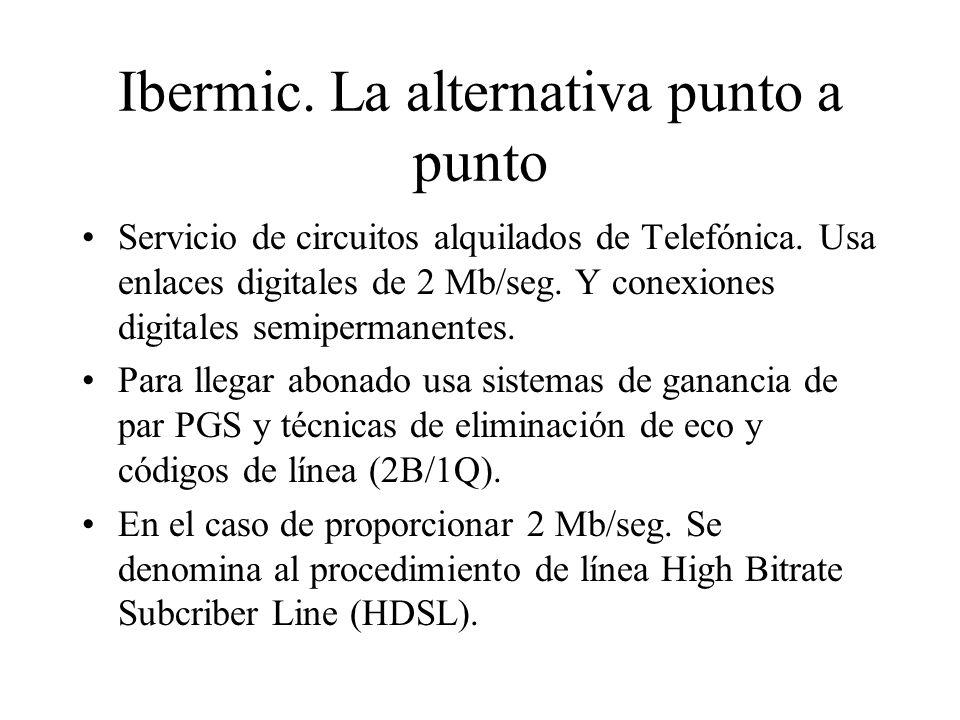 Ibermic. La alternativa punto a punto