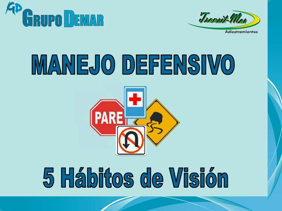 MANEJO DEFENSIVO 5 Hábitos de Visión
