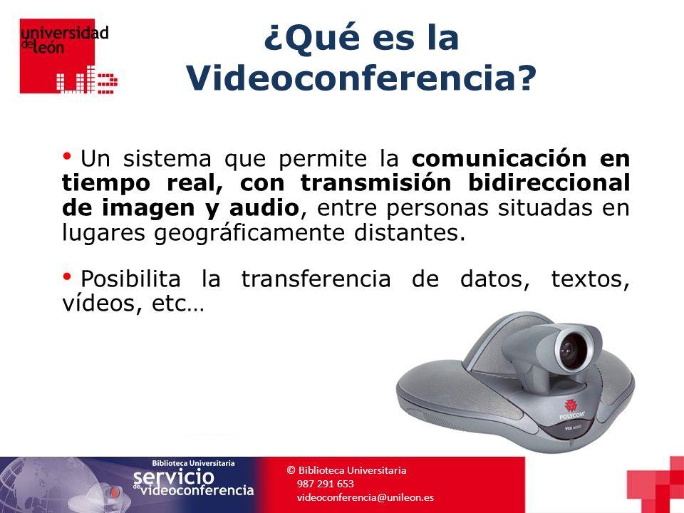 ¿Qué es la Videoconferencia