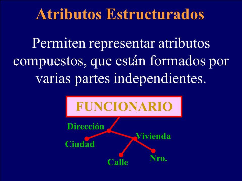Atributos Estructurados