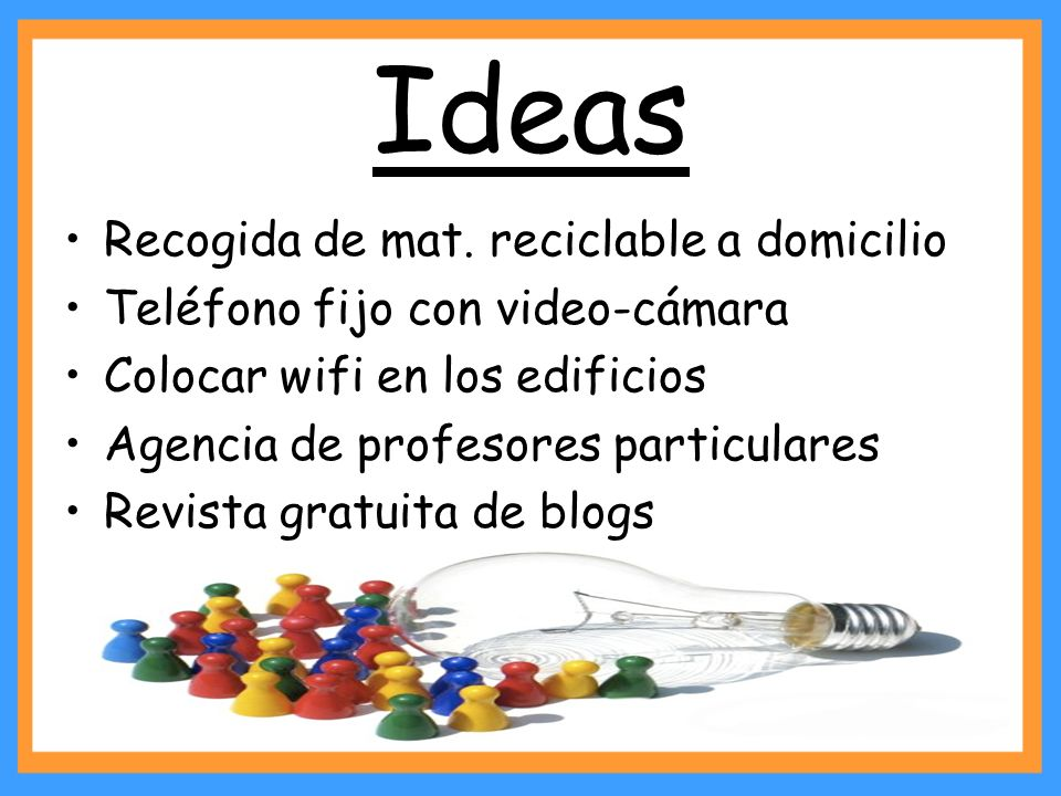 Ideas Recogida de mat. reciclable a domicilio