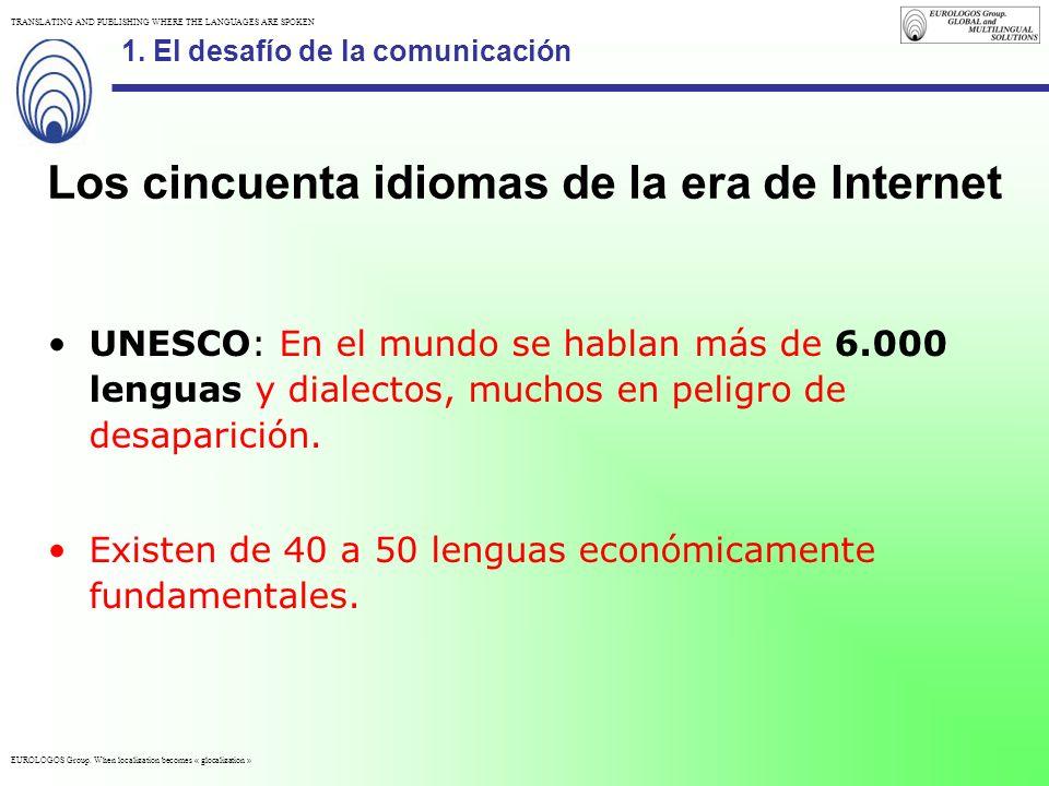 Los cincuenta idiomas de la era de Internet