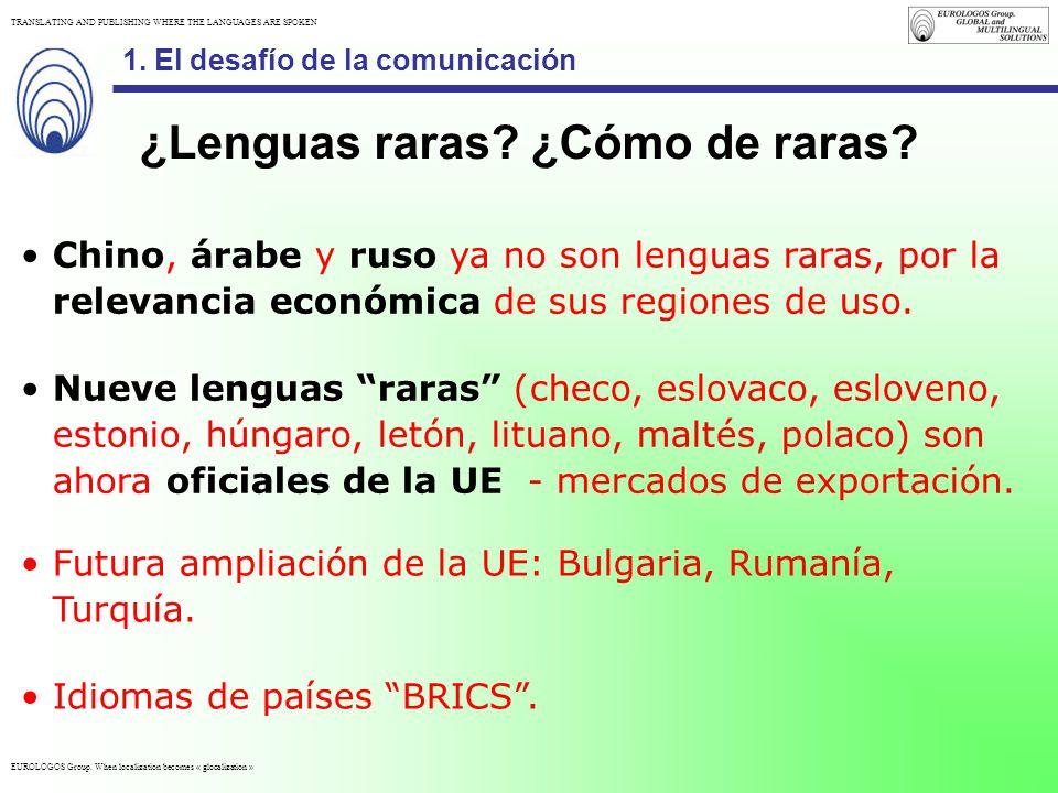 ¿Lenguas raras ¿Cómo de raras