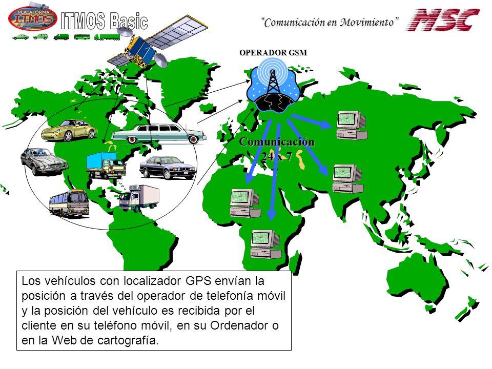 OPERADOR GSM Comunicación. 24 x 7.