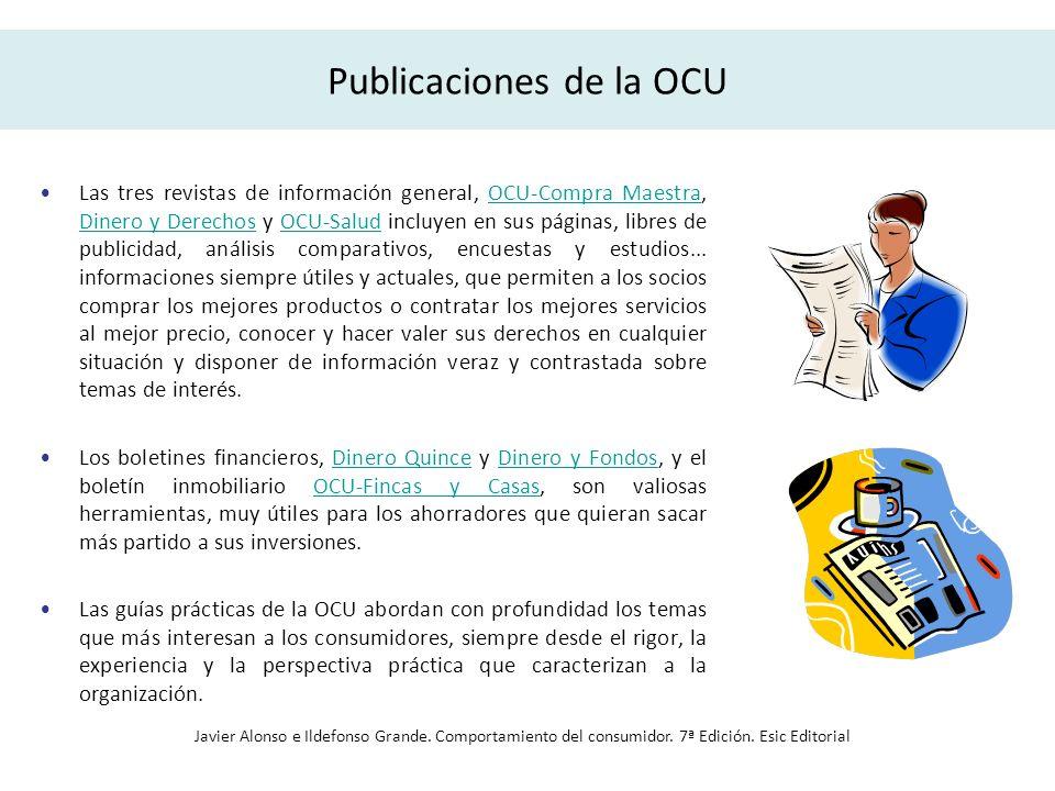 Publicaciones de la OCU