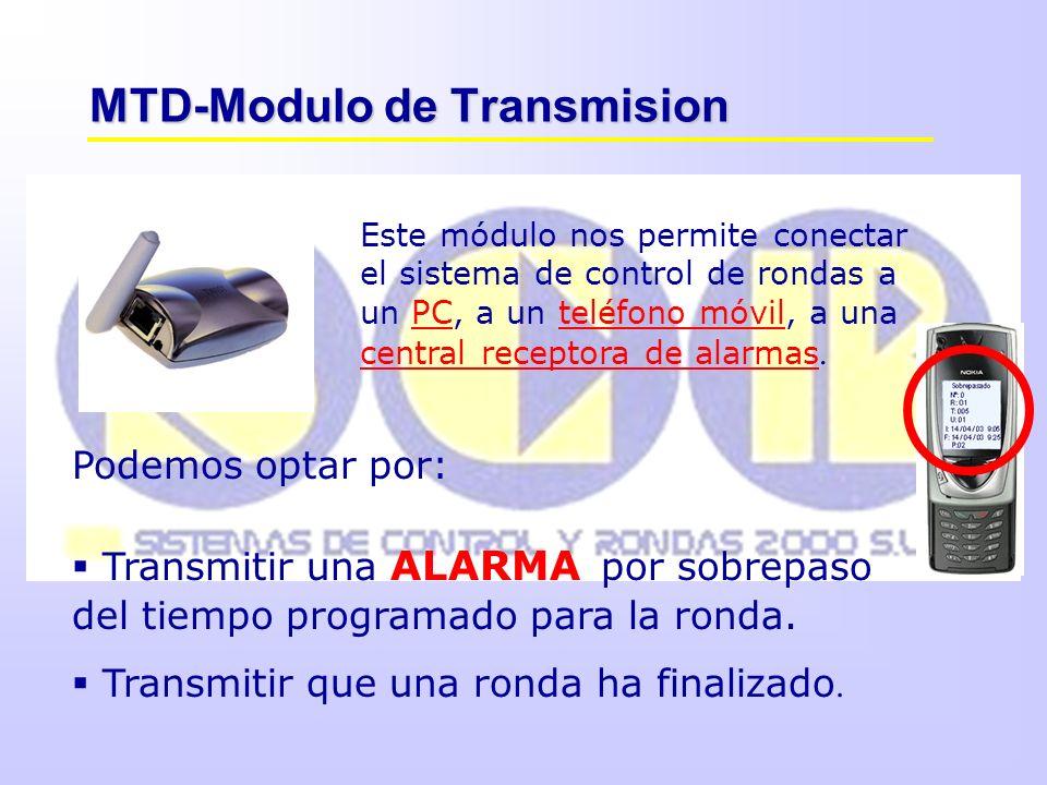 MTD-Modulo de Transmision