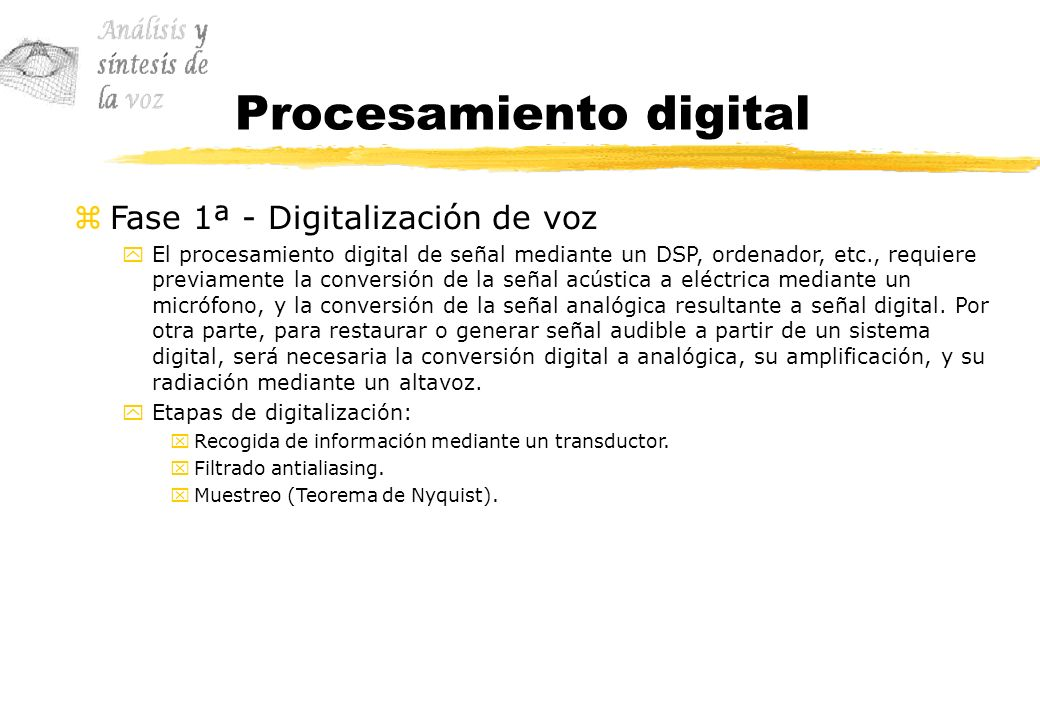 Procesamiento digital