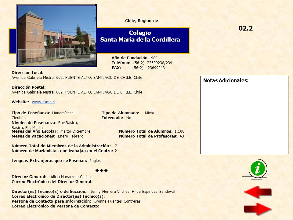 Santa María de la Cordillera
