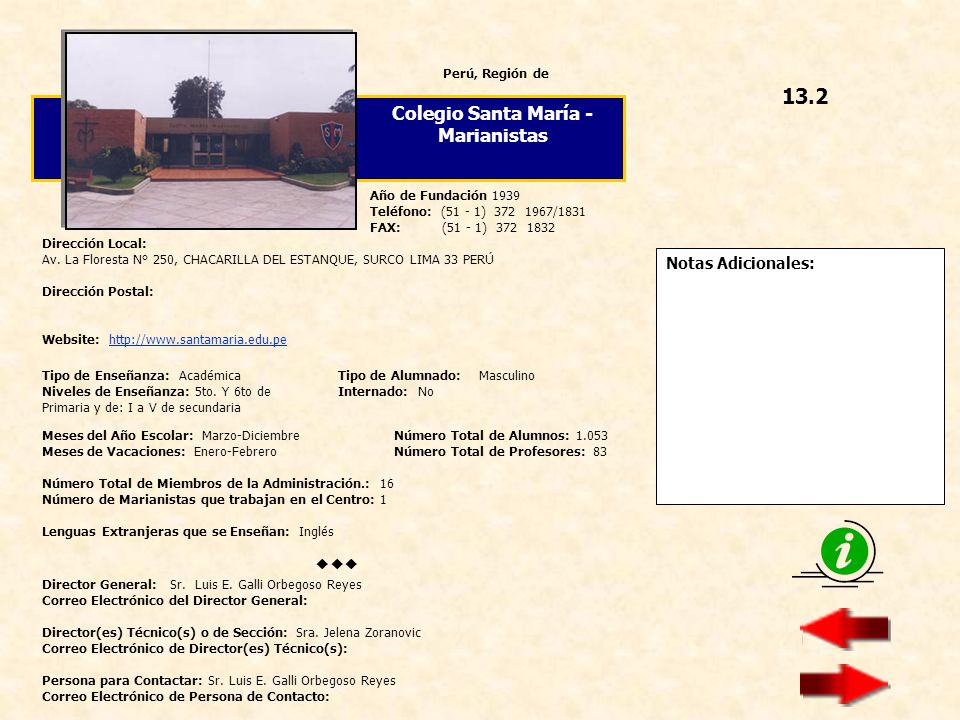 Colegio Santa María - Marianistas