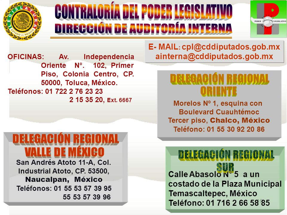 E- MAIL: cpl@cddiputados.gob.mx