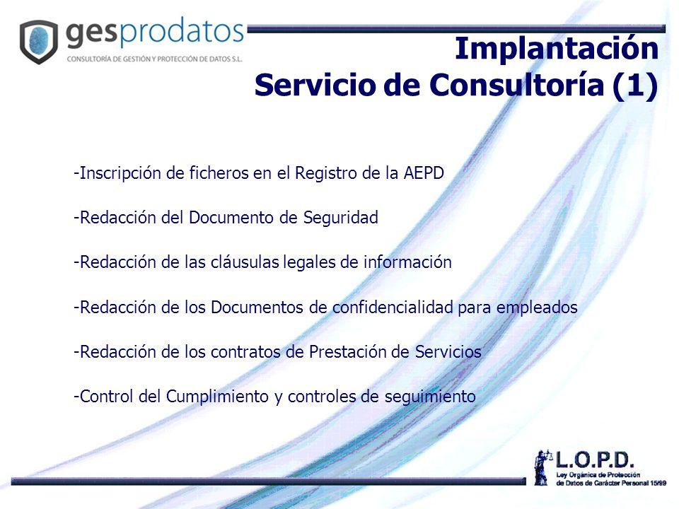 Implantación Servicio de Consultoría (1)