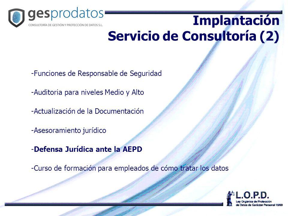 Implantación Servicio de Consultoría (2)