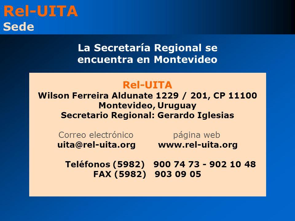 La Secretaría Regional se encuentra en Montevideo