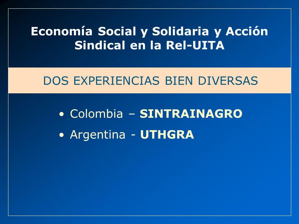 Economía Social y Solidaria y Acción Sindical en la Rel-UITA