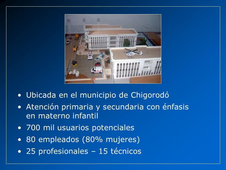 Ubicada en el municipio de Chigorodó