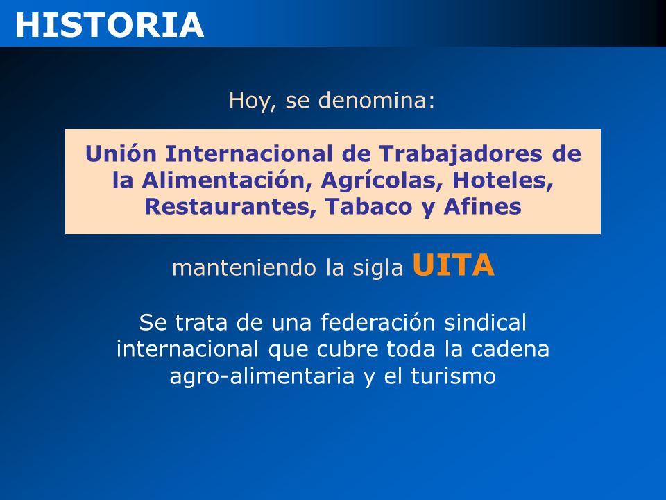manteniendo la sigla UITA
