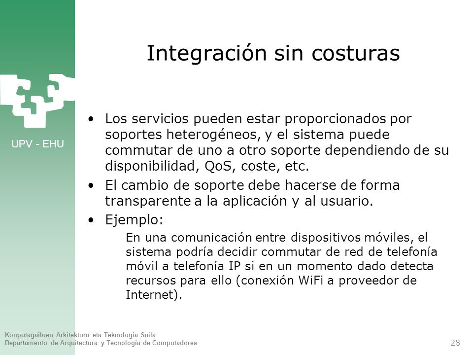 Integración sin costuras