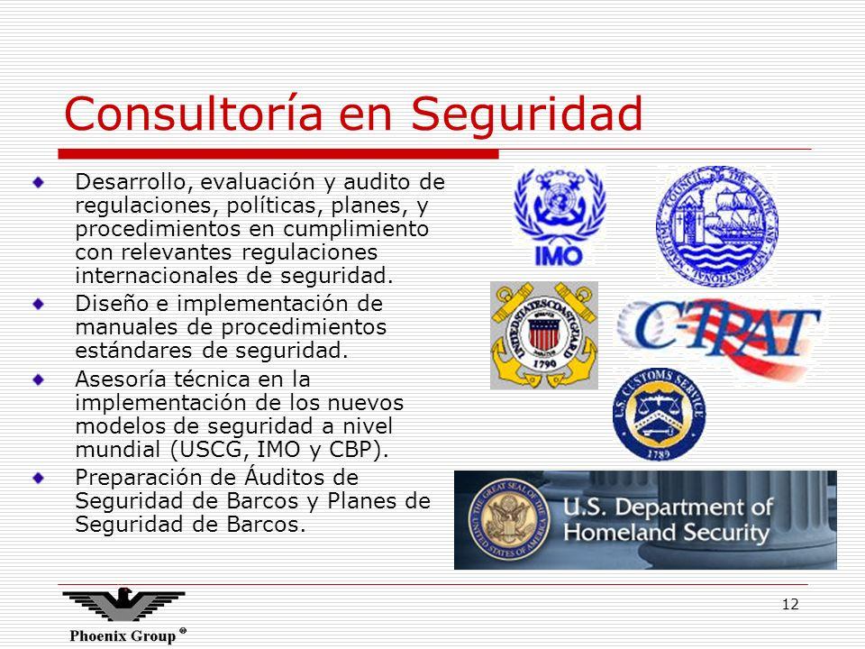 Consultoría en Seguridad