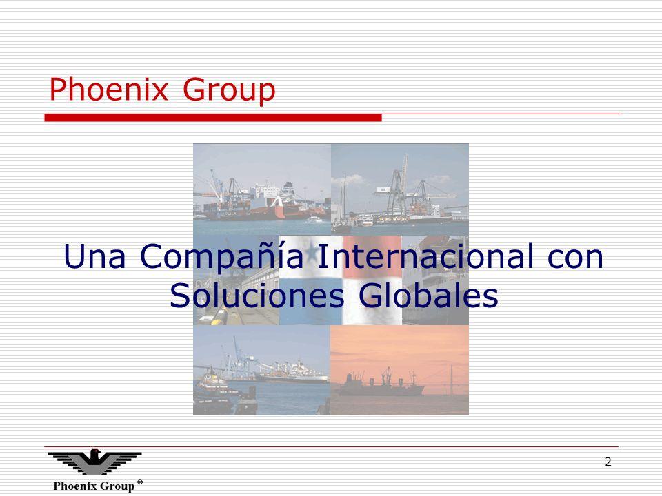 Una Compañía Internacional con Soluciones Globales