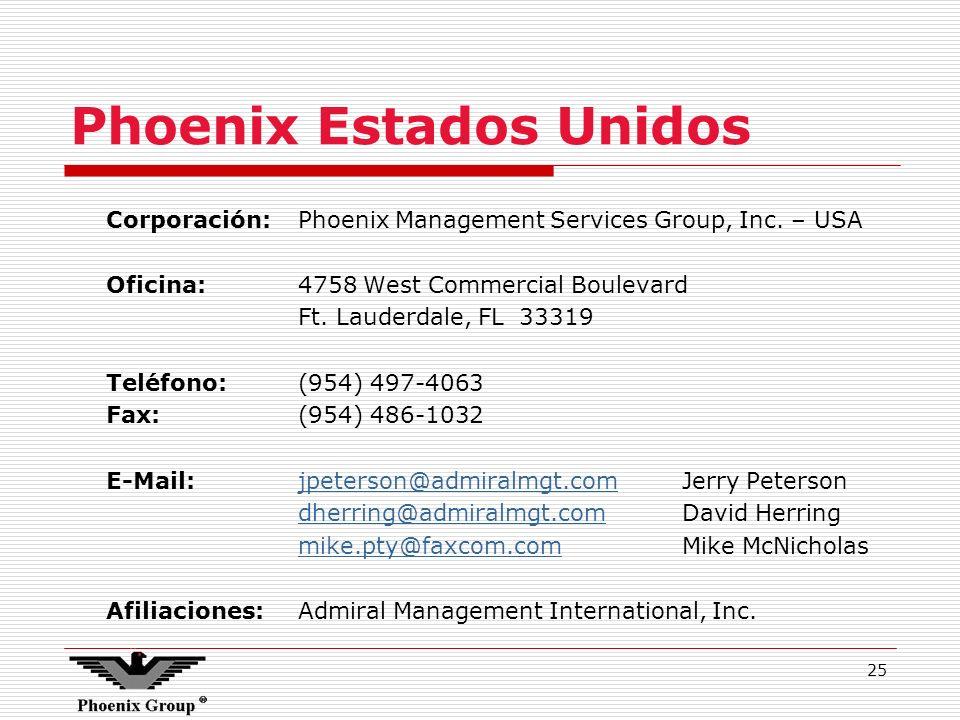Phoenix Estados Unidos