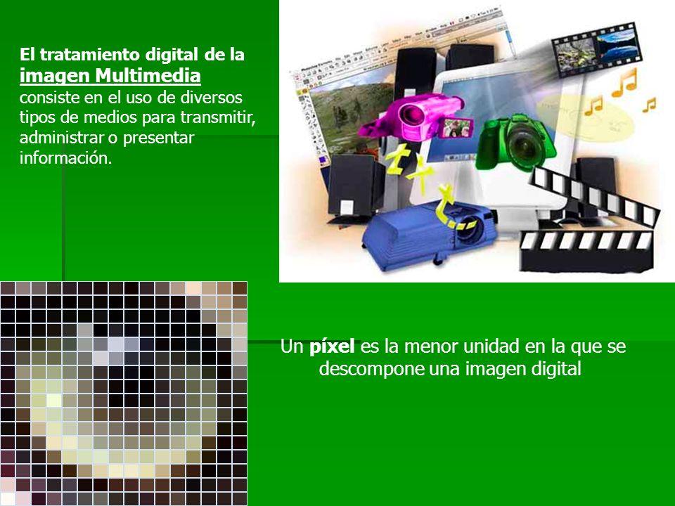 Un píxel es la menor unidad en la que se descompone una imagen digital