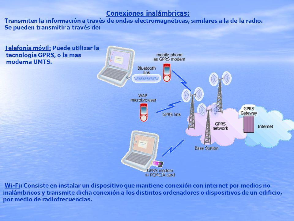Conexiones inalámbricas: