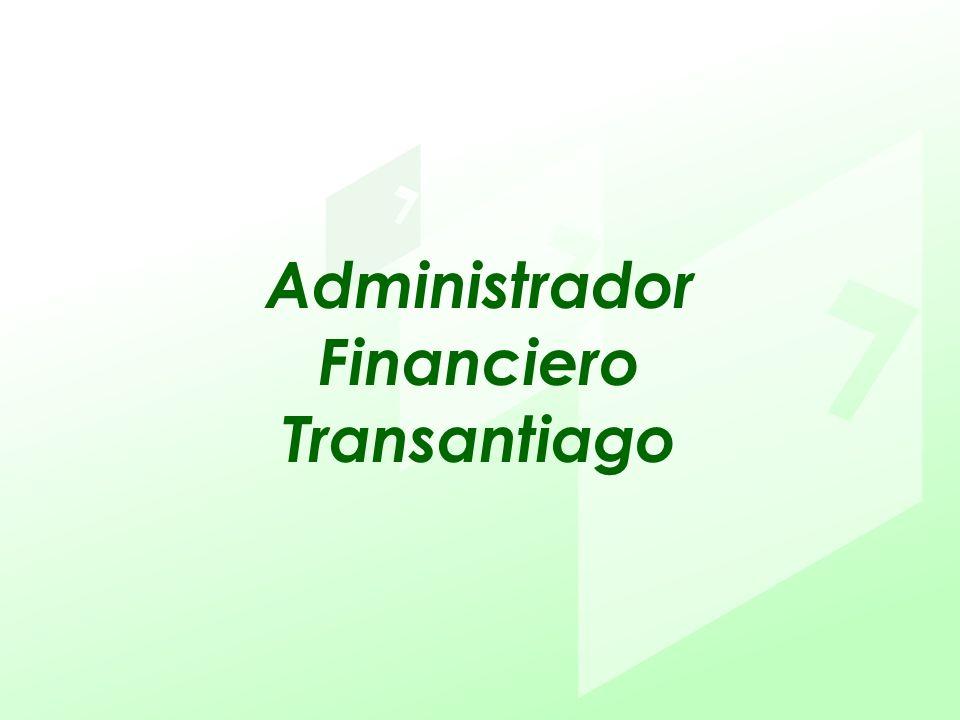 Administrador Financiero Transantiago