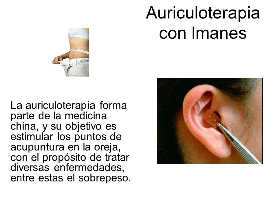 Auriculoterapia con Imanes