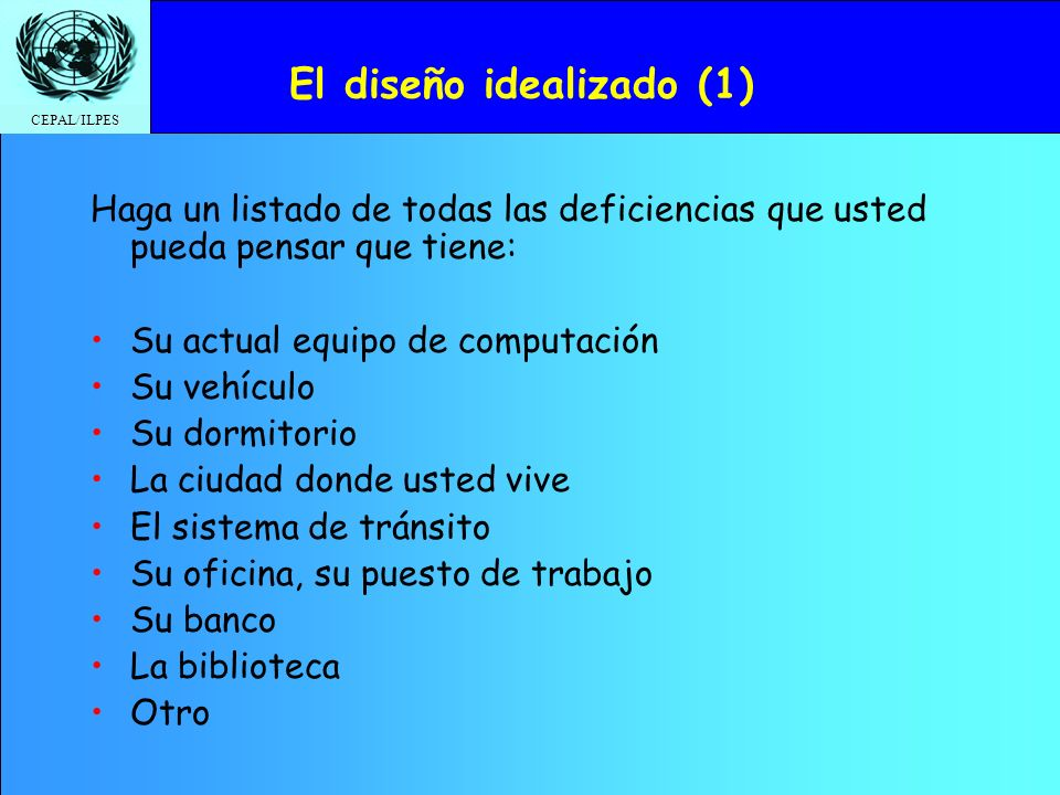 El diseño idealizado (1)