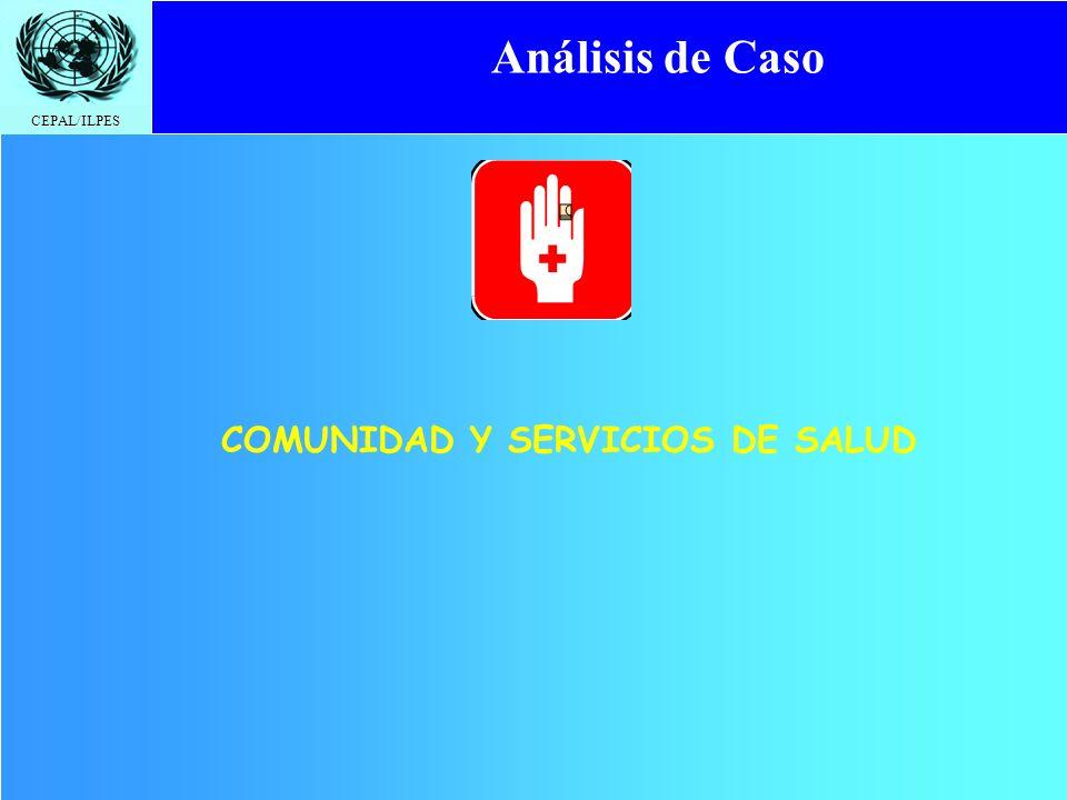 COMUNIDAD Y SERVICIOS DE SALUD