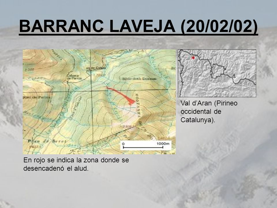 BARRANC LAVEJA (20/02/02) Val d'Aran (Pirineo occidental de Catalunya).