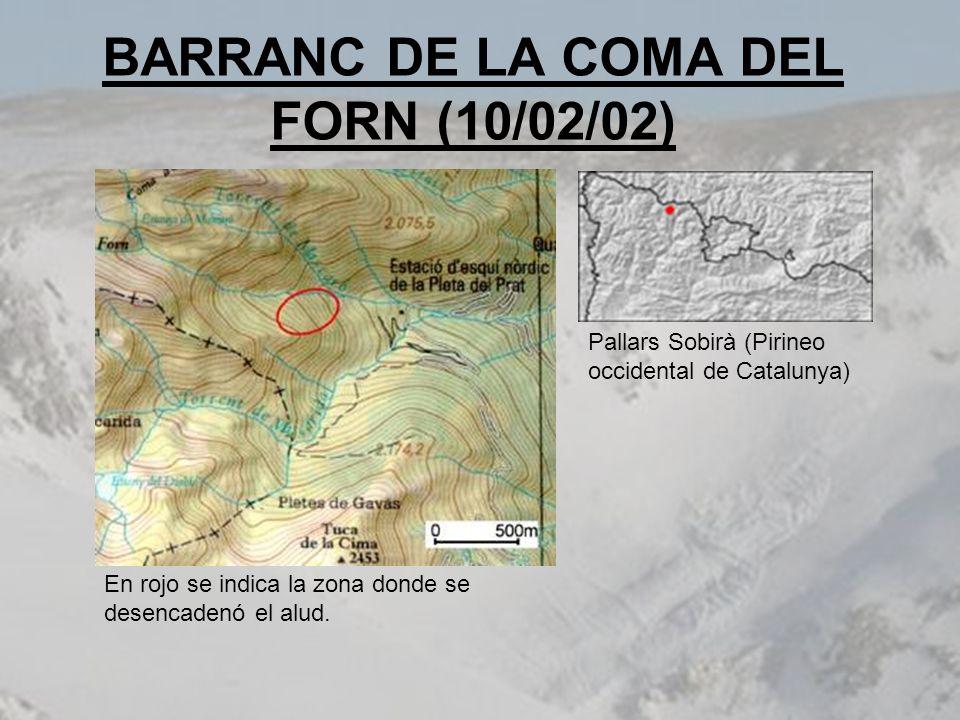 BARRANC DE LA COMA DEL FORN (10/02/02)