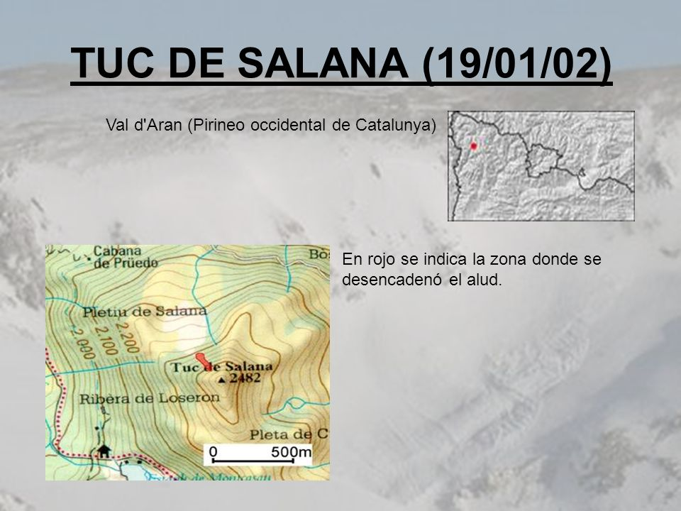 TUC DE SALANA (19/01/02) Val d Aran (Pirineo occidental de Catalunya)
