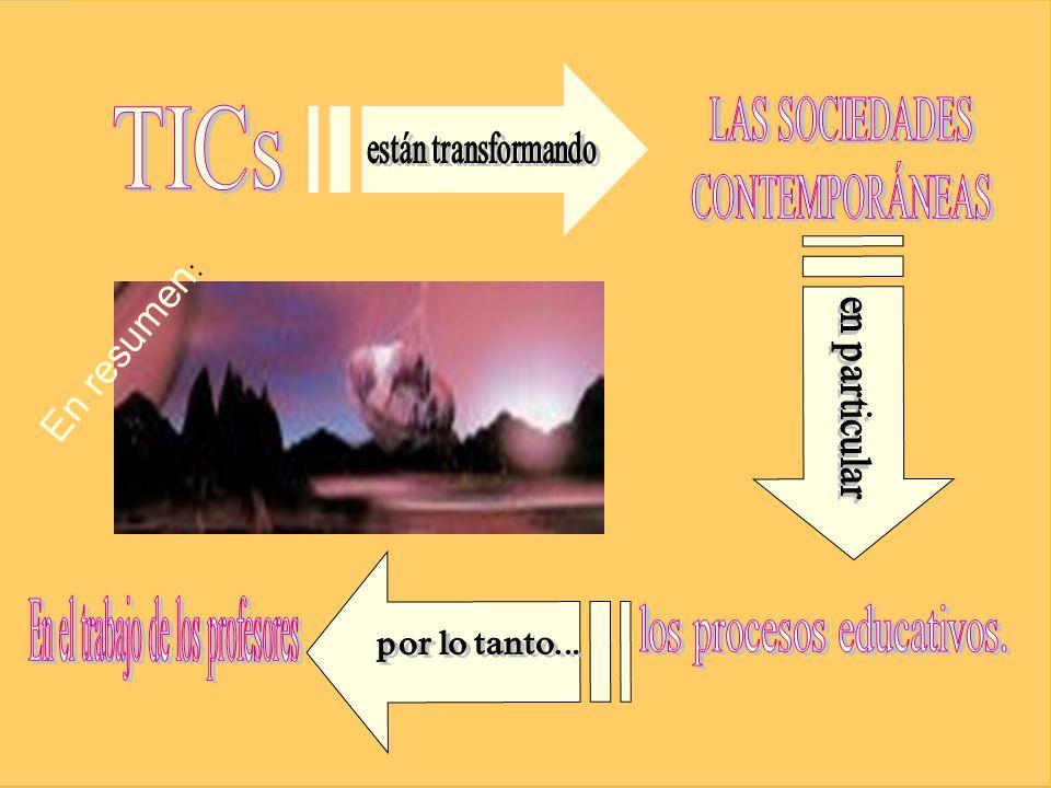 En el trabajo de los profesores los procesos educativos.