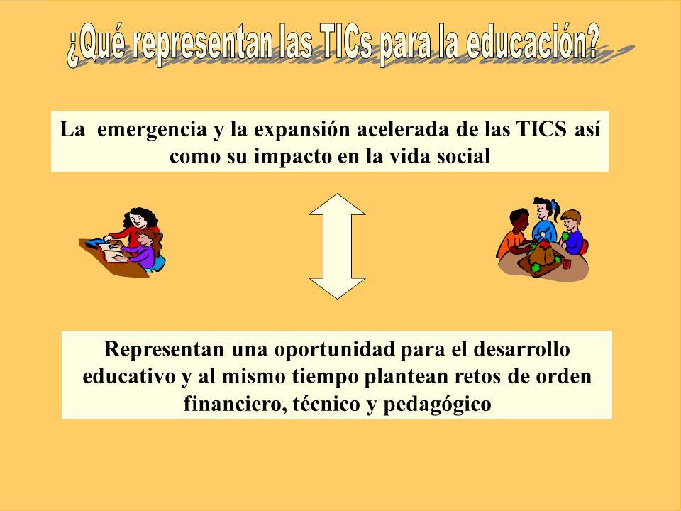 ¿Qué representan las TICs para la educación